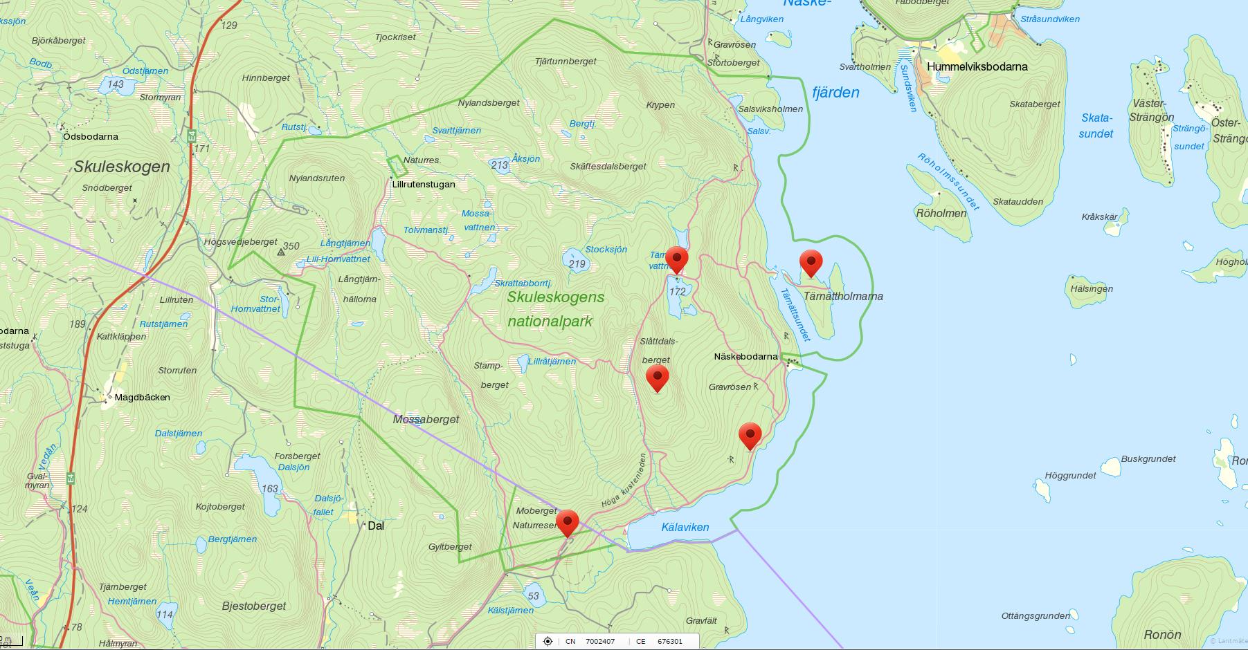 Karta_Skuleskogen